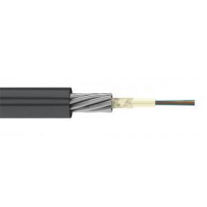 Кабель оптический 4 волокна одномод, бронированный стал. проволокой, универсальный, нг(А)-HF, 2,7кН