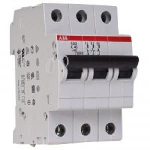 Автоматический выключатель ABB STOS203 C40 3п 40А  6кА (2CDS253001R0404)
