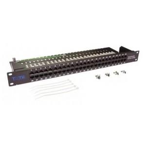 """TWT-PP50TEL45 Патч-панель телефонная, 19"""", 1U, 50 портов RJ-45"""