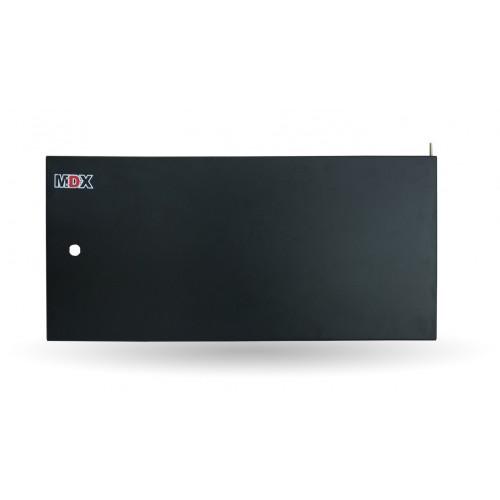 Дверь металлическая 12U к настенному шкафу MDX MDX-DR-12U-M