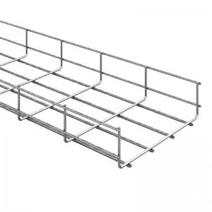 Лоток проволочный OSTEC 100х60х3000 метал.