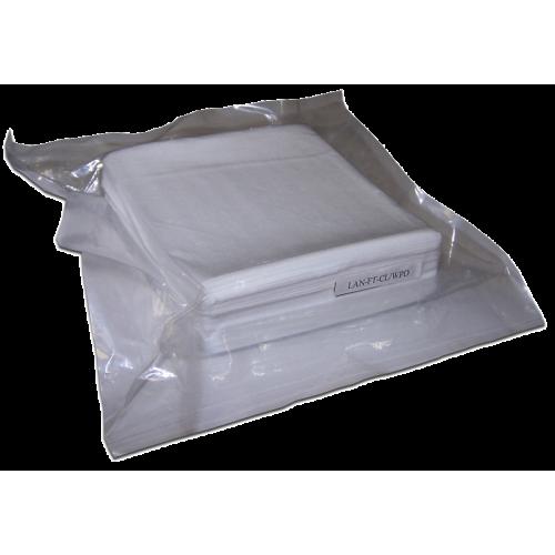 Салфетки безворсовые, сухие, 100 шт. LAN-FT-CL/WPD