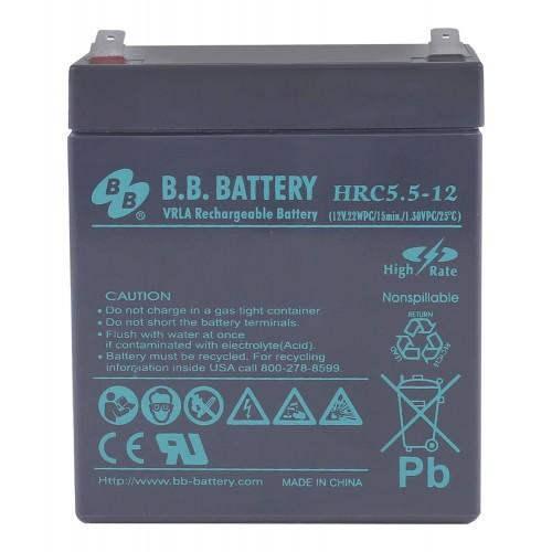 Аккумуляторная батарея В.В.Battery HRC 5,5-12 BB HRC5,5-12