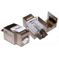 LAN-OK45S5E/90 Модуль Keystone, RJ45, кат.5E, STP, 90 градусов