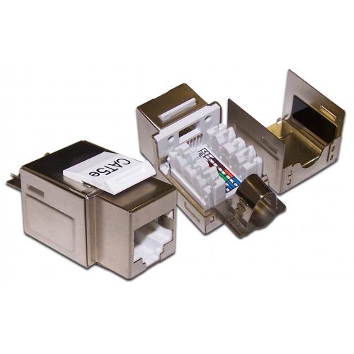 Модуль Keystone, RJ45, кат.5E, STP, 90 градусов LAN-OK45S5E/90