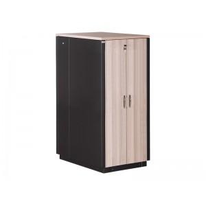 """Серверный звукопоглощающий шкаф 32U, 750х1130, SoundProof SERVER 19"""" цвет клён"""