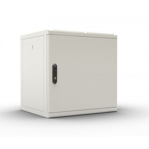 """Шкаф 19"""" ЦМО телекоммуникационный настенный разборный 9U (600х650), съемные стенки, дверь металл ШРН-М-9.650.1"""
