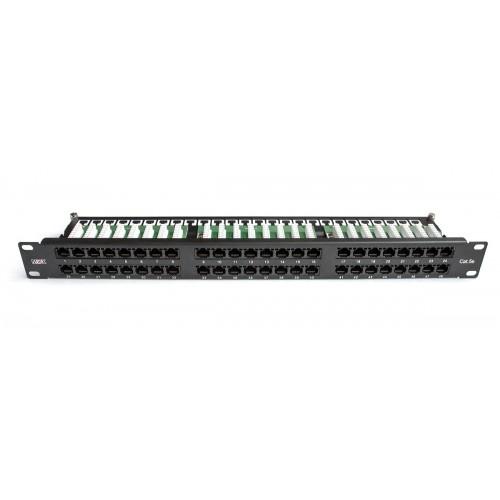 "Патч-панель  19 "" MDX 1U 48 портов RJ45 UTP категория 5е  MDX-PPR-UTP5е-48-1U"