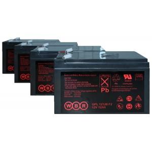 Аккумуляторная батарея WBR GP12120 (12V 12Ah)