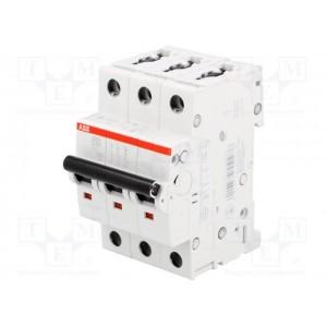 Автоматический выключатель ABB STOS203 C63 3п 63А  6кА (2CDS253001R0634)