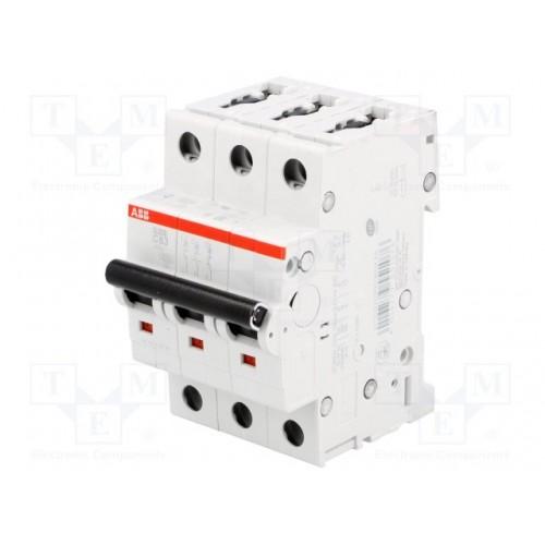 Автоматический выключатель ABB STOS203 C63 3п 63А  6кА (2CDS253001R0634) 2CDS253001R0634