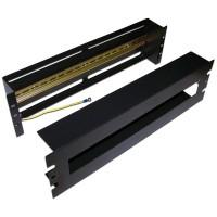 """TWT-CB-DINRL/3U 19"""" панель с DIN-рейкой для установки электроавтоматов, 3U"""