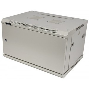 """Шкаф 19"""" 27U 600x600 настенный, TWT серии Pro, дверь металл, разборный"""