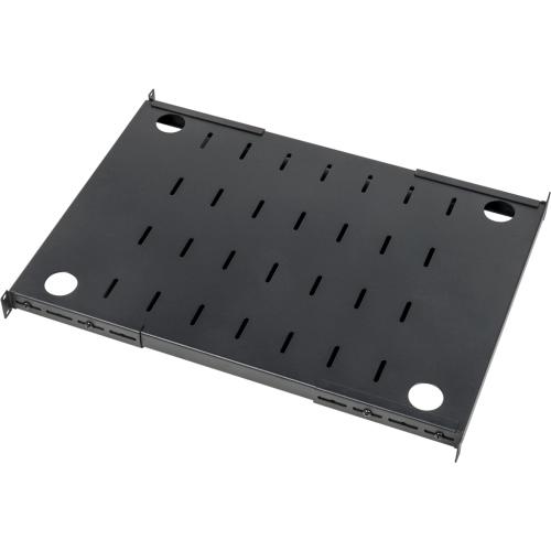 Полка с креплением на 4 точки для шкафов LANMASTER DCS глубиной 1200 мм, нагрузка - 280 кг LAN-DC-CB-S4-12/280