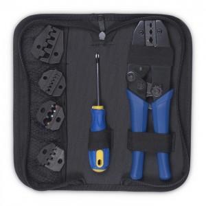 Cabeus Набор инструментов (инструмент обжимной для наконечников, отвертка, сменныенасадки 5 шт.)