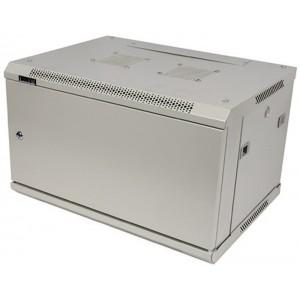 """Шкаф 19"""" 9U 600x800 настенный, TWT серии Pro, дверь металл, разборный"""