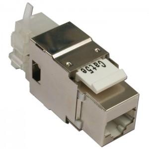 LAN-OK45S5E/180 Модуль Keystone, RJ45, кат.5E, STP, 180 градусов