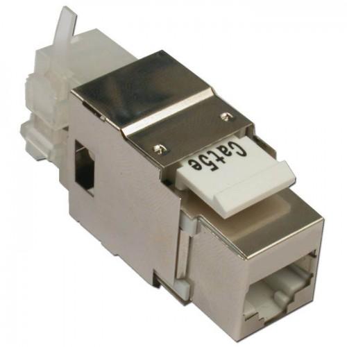 Модуль Keystone, RJ45, кат.5E, STP, 180 градусов LAN-OK45S5E/180