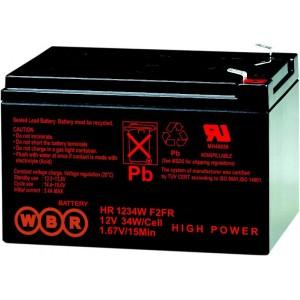Аккумуляторная батарея WBR HR1234WF2 (12V 9Ah)
