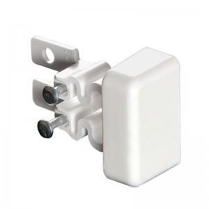 Заглушка торцевая - для мини-плинтусов DLPlus 32x20 - белый