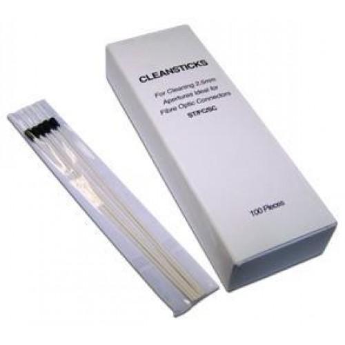 Чистящие палочки для оптических разъемов 2.5 мм, 100 шт. LAN-FT-CL/ST2