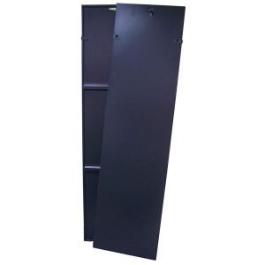 Комплект из 2-х перфорированных боковых панелей, для шкафов Business 47U глубиной 800