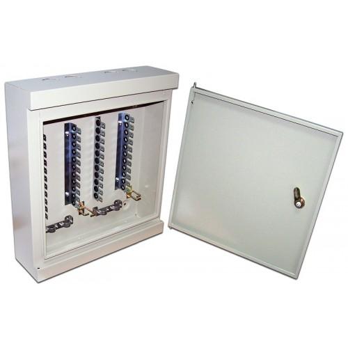 Настенный распределительный бокс, 60 плинтов, 600 пар, металл, с замком TWT-DB10-60P/KM TWT-DB10-60P/KM