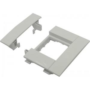 Суппорт Efapel 10950 ABR для монтажа механизмов 45х45 в короб с крышкой 75мм