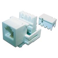 Модуль Keystone телефонный, RJ11 Port, UTP, 110, TWT-OK12UTP/TEL-WH