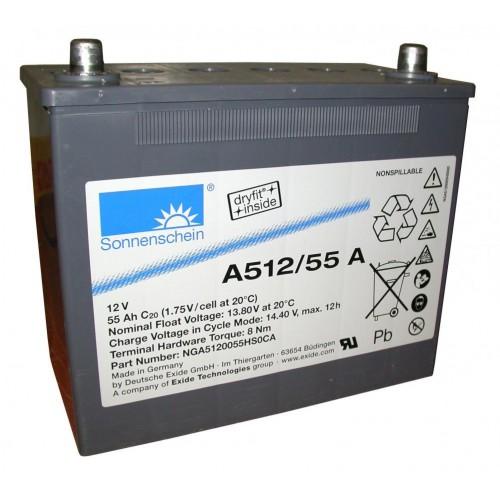 Аккумулятор гелевый Sonnenschein A512/55 A (12V 55Ah) GEL A512/55 A