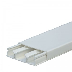 Мини-плинтус DLPlus 60x16 - 3 секции - длина 2,10 м - белый