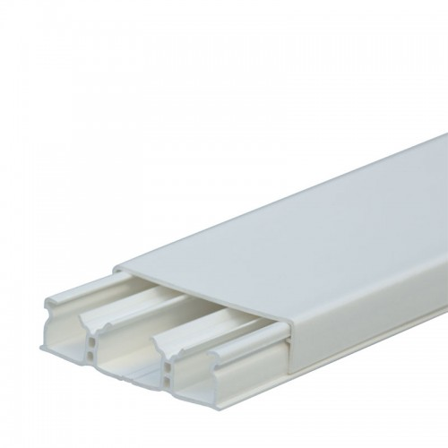 Мини-плинтус DLPlus 60x16 - 3 секции - длина 2,10 м - белый 30026