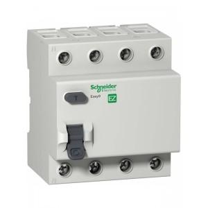 УЗО 4P 40А 100мА AC Schneider Electric EASY 9 EZ9R54440