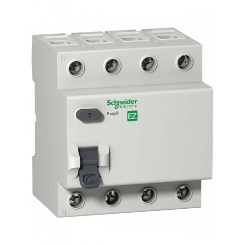 УЗО 4P 40А 100мА AC Schneider Electric EASY 9 EZ9R54440 EZ9R54440