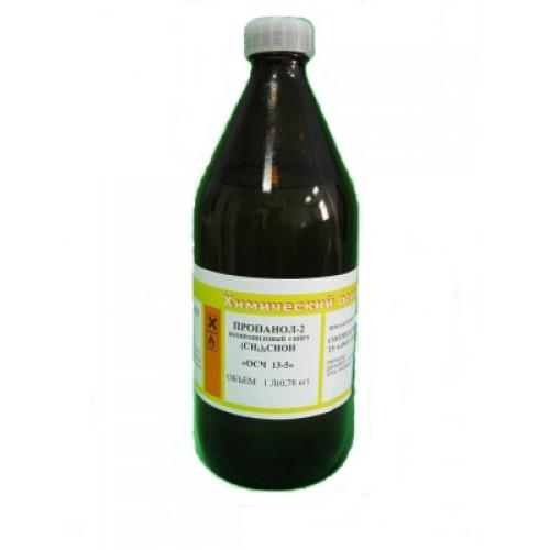 Спирт изопропиловый ОСЧ (пропанол-2), 800 г. (1л.) Россия (CH3)2-CHOH