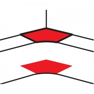 Угол внутренний переменный от 80° до 100° - для кабель-каналов DLP 65х150/195/220