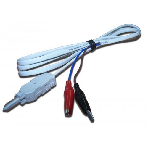 Шнур тестовый для плинтов, 2-х полюсный LSA/Крокодил, 1,5м TWT-LSA-P2-CR2-1.5m TWT-LSA-P2-CR2-1.5m