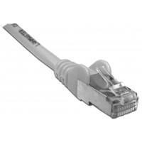 Патч-корд RJ45 кат 6 FTP шнур медный экранированный LANMASTER 0.5 м LSZH белый