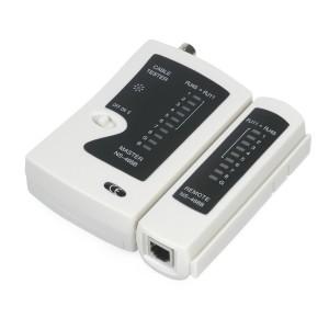 Cabeus CT-BNC-RJ45 Тестер для витой пары, коаксиала, телефона (кож.зам.чехол)