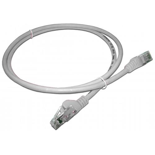 Патч-корд RJ45 UTP кат 5e шнур медный LANMASTER 0.5 м LSZH белый LAN-PC45/U5E-0.5-WH