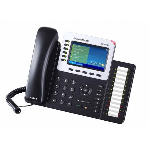 IP-телефон, 6 SIP линий, PoE, Bluetooth, USB, Grandstream GXP2160 GXP2160