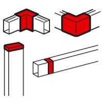 Торцевая заглушка/внутренний или внешний угол/накладка на стык - для мини-каналов Metra - 60x40