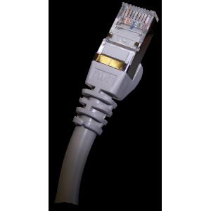 Патч-корд RJ45 TWT кат 5e FTP шнур медный экранированный 1.0 м серый