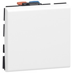 Выключатели - Программа Mosaic - 10 AX - 250 В~ - 2 модуля - белый