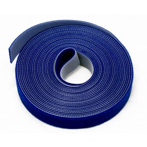 TWT Рулон-липучка шириной 20 мм, 30 м, синий TWT-VCM30M-BL
