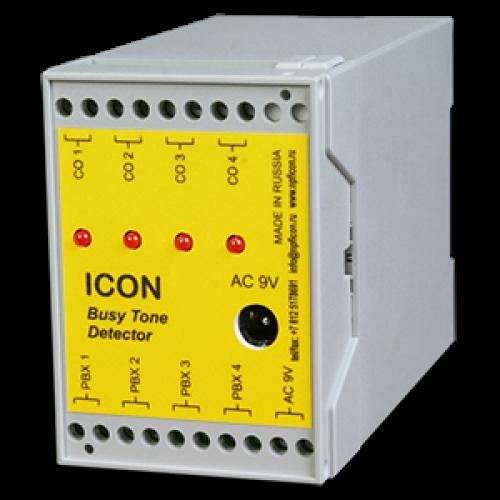 4-канальный детектор отбоя с внешним питанием BTD4 (без учета блока пит) BTD4