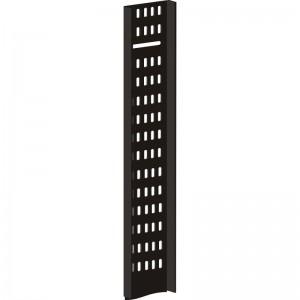 Вертикальный кабельный лоток для шкафов 21U, шириной 100 мм, черный распродажа
