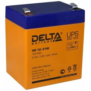 Аккумуляторная батарея Delta HR12-21W