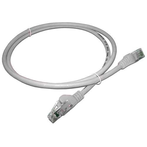 Патч-корд RJ45 UTP кат 5e шнур медный LANMASTER 5.0 м LSZH белый LAN-PC45/U5E-5.0-WH