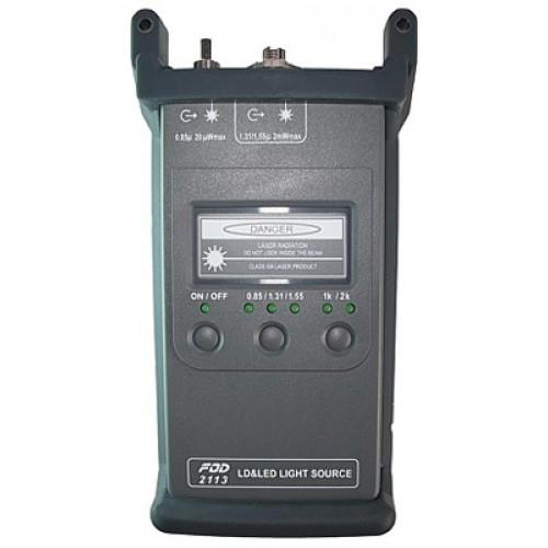 Источник лазерного излучения FOD-2113 (850 (LED)/1310/1550 nm, SM/MM, FC) FOD-2113